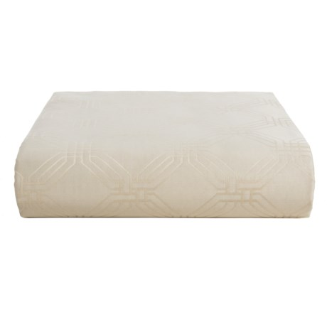 Christy Maddox Fitted Sheet - King, 400 TC Cotton in Oyster