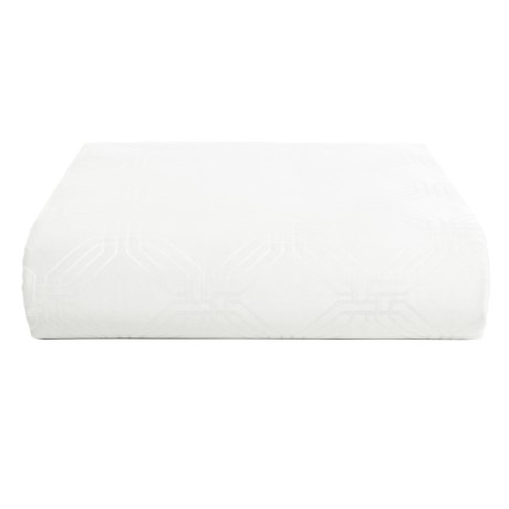 Christy Maddox Fitted Sheet - Queen, 400 TC Cotton in White