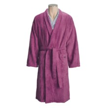 Christy Odyssey Cotton Terry Robe - Kimono Style (For Men and Women) in Pink - Closeouts