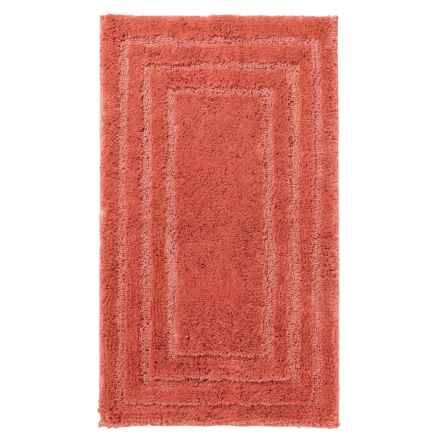 "Christy of England Christy Aerofil® Race Track Bath Rug - 19x34"" in Papaya - Closeouts"