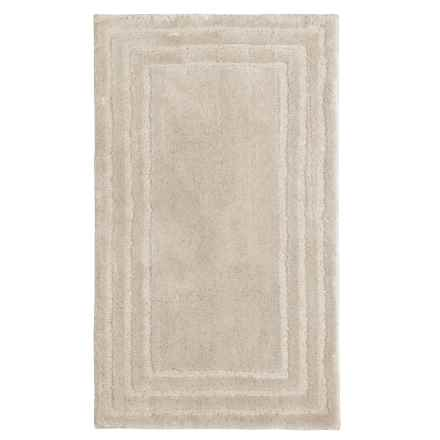 "Christy of England Christy Aerofil® Race Track Bath Rug - 25x45"" in Canvas - Closeouts"