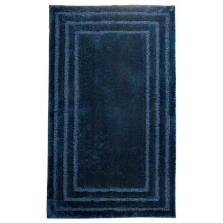 "Christy of England Christy Aerofil® Race Track Bath Rug - 25x45"" in Navy - Closeouts"
