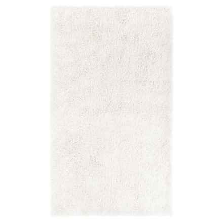 "Christy of England Christy Drylon® Bath Rug - 19x34"" in Snow White - Closeouts"