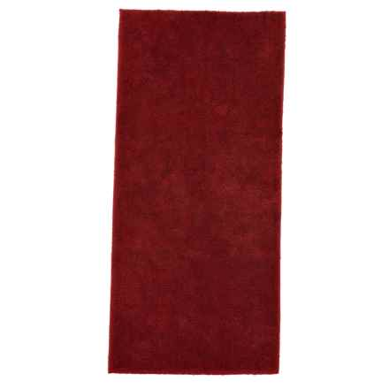 "Christy of England Christy Drylon® Bath Rug - 25x60"" in Red Sadova - Closeouts"