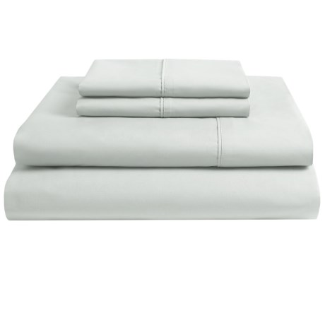 Christy of England Egyptian Cotton Sheet Set - King, 250 TC in Platinum