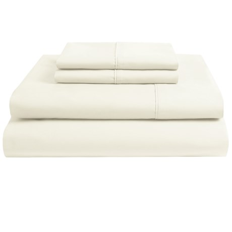 Christy of England Egyptian Cotton Sheet Set - Queen, 250 TC in Cream