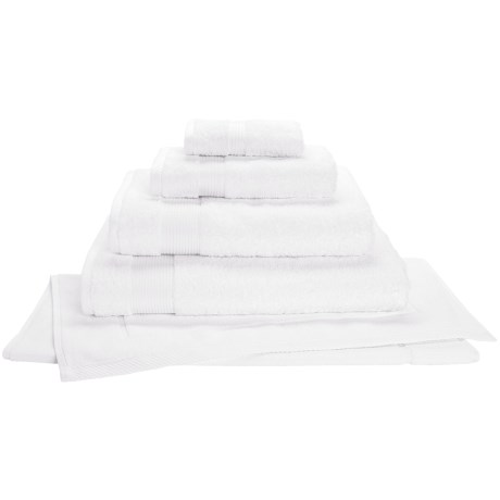 Christy Radiance Color Plus Bath Sheet - 600gsm in White