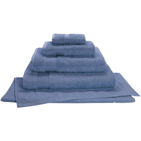 Christy Radiance Color Plus Bath Towel - 600gsm in Blue Shadow