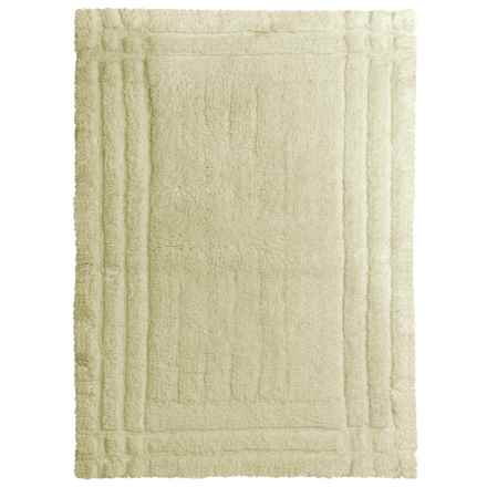 Christy Renaissance Bath Rug - Large in Lime - Closeouts