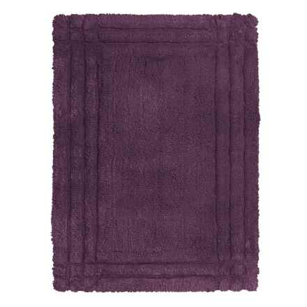 Christy Renaissance Bath Rug - Large in Plum - Closeouts