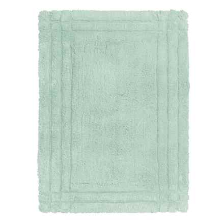 Christy Renaissance Bath Rug - Medium in Eggshell Blue - Closeouts