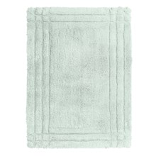 Christy Renaissance Bath Rug - Small in Arctic Aqua - Closeouts