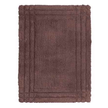 Christy Renaissance Bath Rug - Small in Cocoa - Closeouts