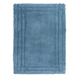 Christy Renaissance Bath Rug - Small in Pacific Blue