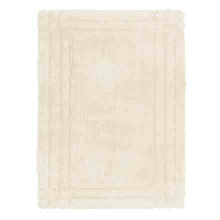 Christy Renaissance Bath Rug - Small in Parchment - Closeouts