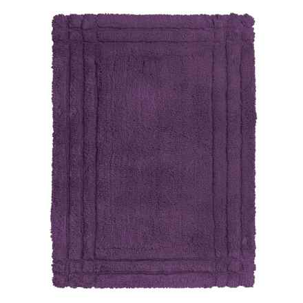 Christy Renaissance Bath Rug - Small in Plum - Closeouts