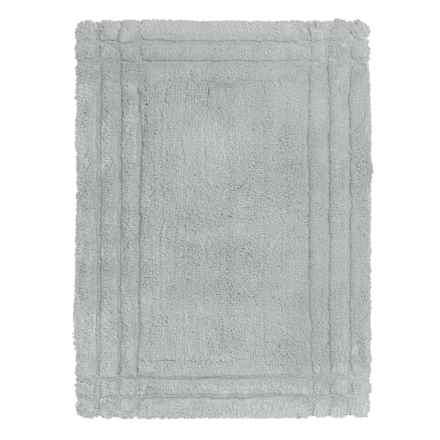 Christy Renaissance Bath Rug - Small in Silver - Closeouts