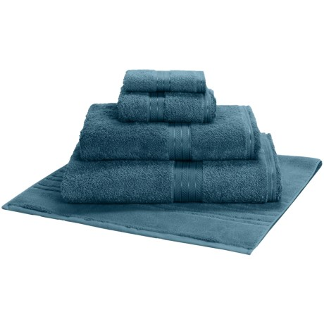 Christy Renaissance Bath Sheet - Egyptian Cotton in Pacific Blue
