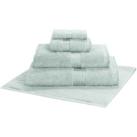 Christy Renaissance Guest Towel - Egyptian Cotton in Arctic Aqua - Closeouts