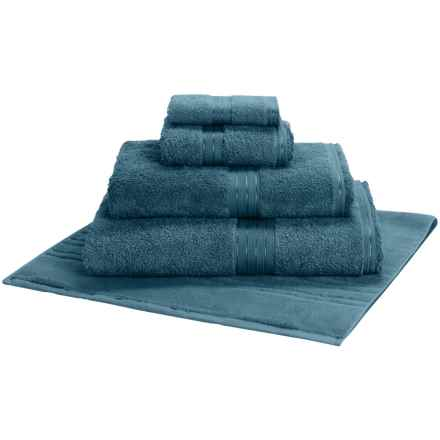Christy Renaissance Guest Towel - Egyptian Cotton in Pacific Blue - Closeouts