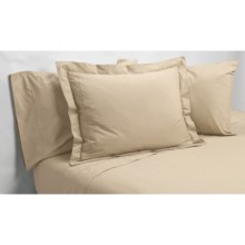 Christy Renaissance Standard Pillowcases - 400 TC Egyptian Cotton Percale in Midas - Closeouts