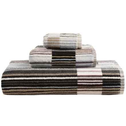 Christy Supreme Capsule Stripe Bath Sheet in Neutral - Closeouts