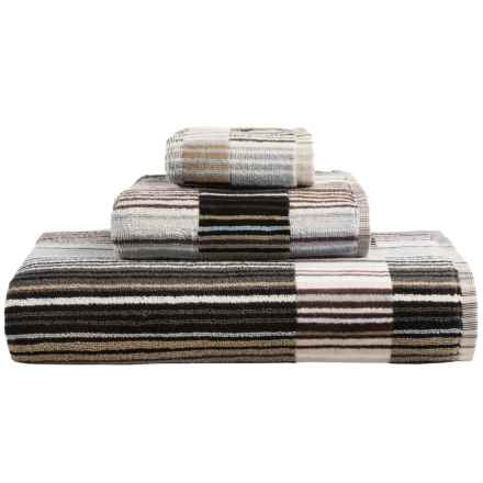 Christy Supreme Capsule Stripe Hand Towel in Neutral - Closeouts