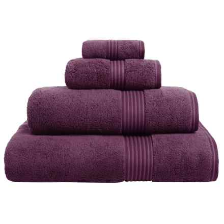 Christy Supreme Hygro Washcloth - Supima® Cotton in Plum - Closeouts