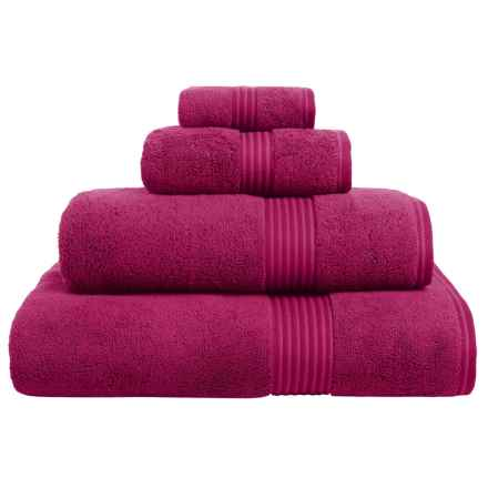 Christy Supreme Hygro Washcloth - Supima® Cotton in Raspberry - Closeouts