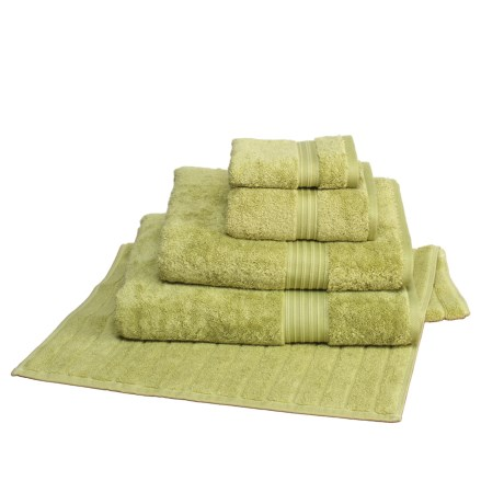 Christy Supreme Supima® Cotton Washcloth - 650gsm in Green Tea