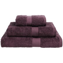 Christy Tribeca Bath Sheet in Aubergine - Closeouts