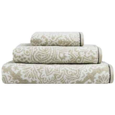 Christy Venezia Cotton Bath Sheet in Stone - Closeouts