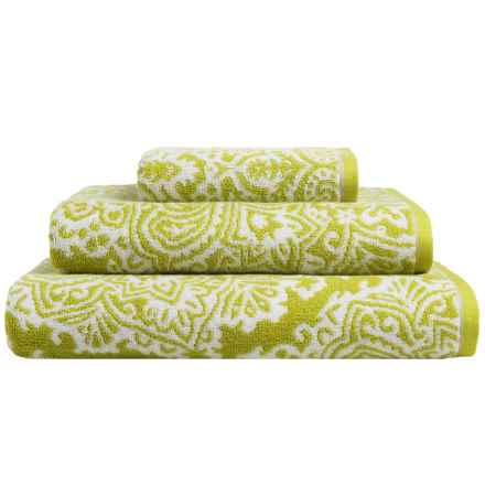 Christy Venezia Cotton Bath Towel in Lime - Closeouts