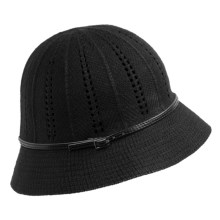 Christys' London Crown Abigail Cloche (For Women) in Black - Closeouts