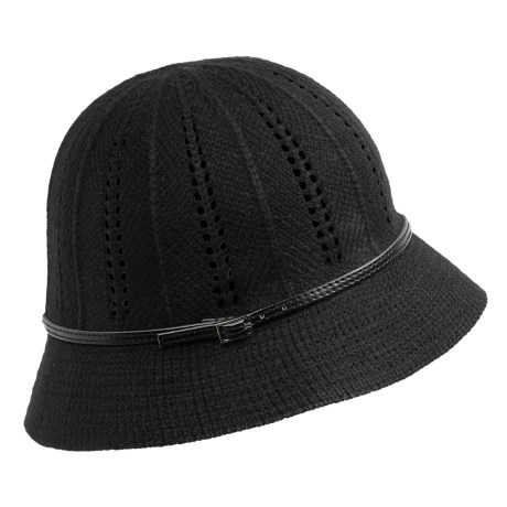 Christys' London Crown Abigail Cloche (For Women) in Black