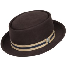 Christys' London Old Sport Pork Pie Hat - Wool (For Men) in Brown - Closeouts