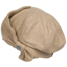 Christys' London Sueded Beret (For Women) in Camel - Closeouts