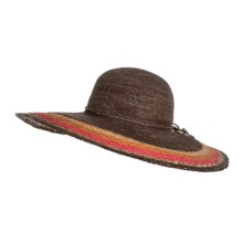 Christys' London Sun Hat - Raffia Straw (For Women) in Brown - Closeouts