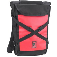 Chrome Industries Bravo Roll-Top Backpack in Black/Red - Closeouts