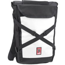 Chrome Industries Bravo Roll-Top Backpack in Black/White - Closeouts