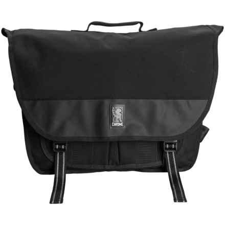 Chrome Industries Buran II Laptop Messenger Bag in Black - Closeouts