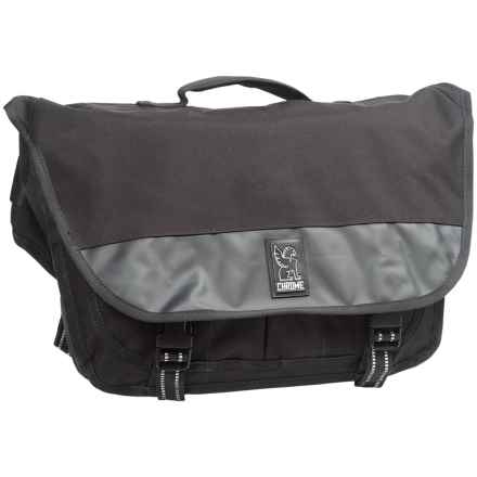 Chrome Industries Mini Buran Laptop Messenger Bag - Small in Black - Closeouts