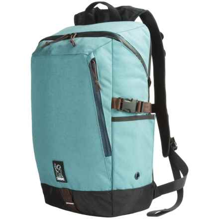 Chrome Industries Rostov Laptop Backpack in Sea/Indigo - Closeouts