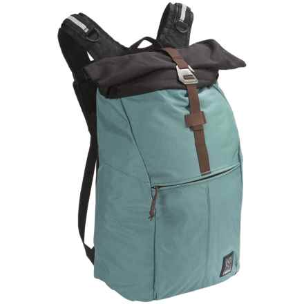 Chrome Industries Yalta 2.0 Nylon Backpack in Sea - Closeouts