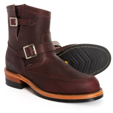 Image of Chrome Pack Jean Shop Engineer Boots - 7? Leather, Factory 2nds (For Men)
