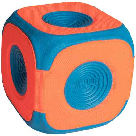 Chuckit! Kick Cube Dog Toy in Blue/Orange - Closeouts