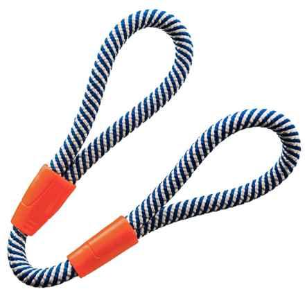 Chuckit! Mountain Rope Tug Dog Toy - Large in Blue, White, & Orange - Closeouts