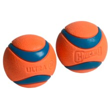 ChuckIt! Ultra Ball Dog Toy - 2-Pack, Medium in See Photo - Closeouts