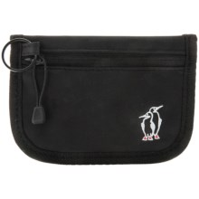 Chums Stash Wallet (For Men and Women) in Black - Closeouts