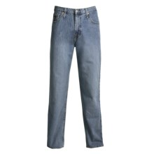 Cinch Black Label Jeans - Stonewashed, Relaxed Fit (For Men) in Medium Stonewash - 2nds